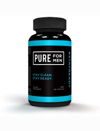 Higiene Anal Pure For Men 60 Capsulas 1494963