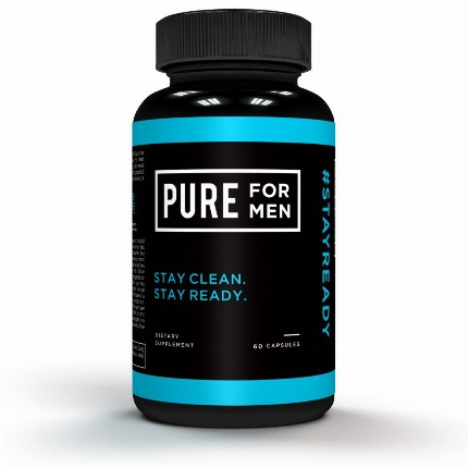 Higiene Anal Pure For Men 60 Capsulas,1494963