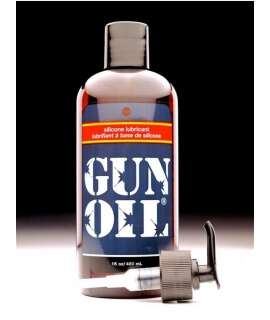 Lubricant Gun Oil Silicone 480 ml GOS16