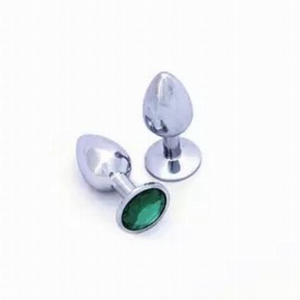 Plug Anal em Alumínio com Jóia,2403841