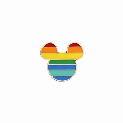 Pin Mickey Arco-Íris 8135083