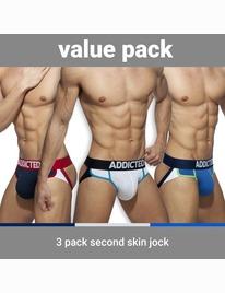 Pack 3x Jockstrap Addicted Second Skin 5005160