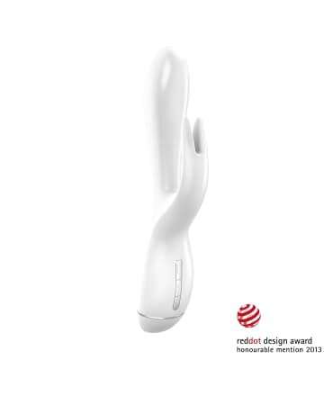Vibrador Rabbit Branco OVO K3 20 cm,0010050300