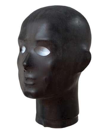 Máscara de Borracha Anatómica com Buraco para Olhos e Nariz,630500