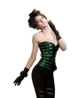 The bodice is Green with Lists Black 161007