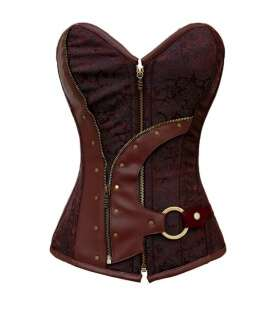 Bodice Steampunk Brown 161010