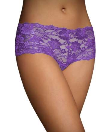 Briefs French Purple with Straps in Cross Back 176007