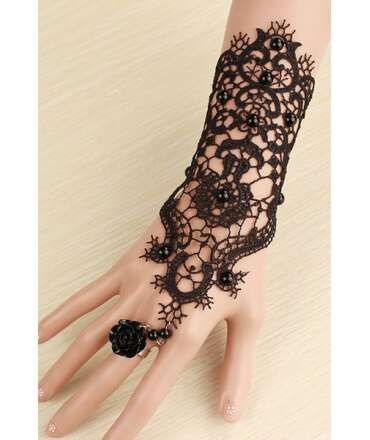 Glove Rendered Extra Sensual with Ring 137004