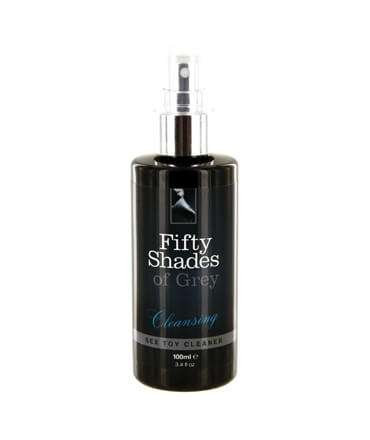 50 Sombras de Grey: Limpador de Brinquedos Cleansing 100 ml, Limpeza de Brinquedos, Fifty Shades of Grey , welcomelover, sex ...