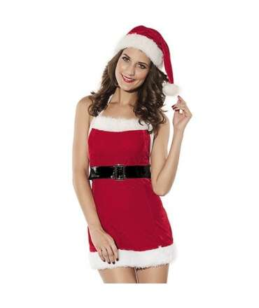 Mini Dress Sexy Mother Christmas 0950041000