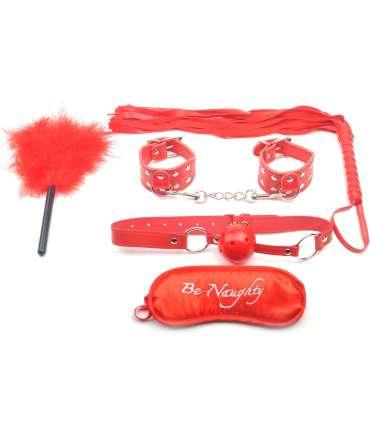 Kit Bondage-Red - 5 pieces 1320521000
