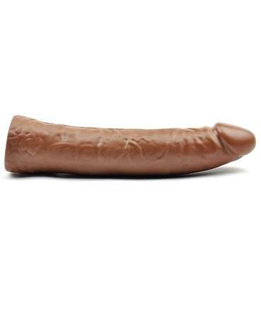 Dildo Being Realístico Castanho 18 cm,228002