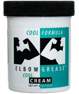 Lubrificante Óleo Elbow Grease Cool 113g 911562 Elbow Grease Fisting