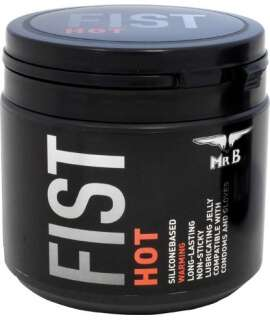 Lubricant Silicone Mister B FIST Hot 500 ml 910850