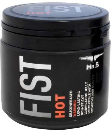 Lubrificante Silicone Mister B FIST Hot 500 ml,910850