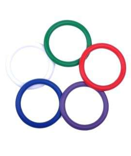 Cockrings Rainbow Multiple Colors - Pack of 5 colors 130002