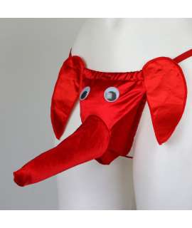 Tanga Trombinhas Vermelho,136001
