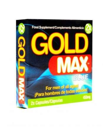 Potenciador Gold Max Blue 2 Cápsulas,GM2