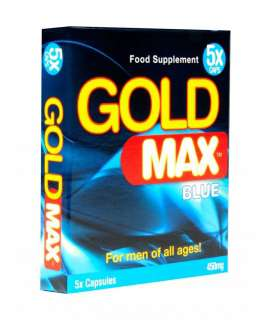 Potenciador Gold Max Blue 5 Cápsulas,GM5