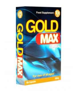 Potenciador Gold Max Blue 10 Cápsulas,GM10
