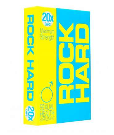Enhancer Rock Hard 20 Capsules RH20