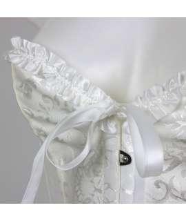 Bodice White Floral 161012