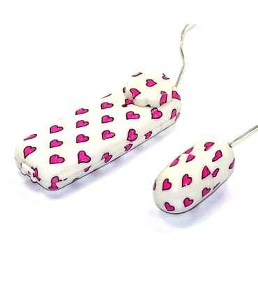 Egg, Vibrating Love Hearts 211016