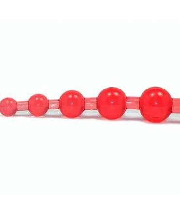 Bolas Anais de Silicone Jazz Vermelho 23 cm,339003