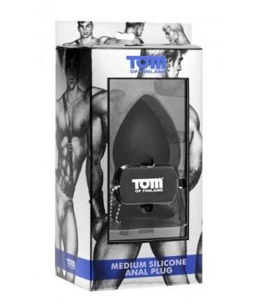 Plug Anal Silicone M Tom of Finland,135377