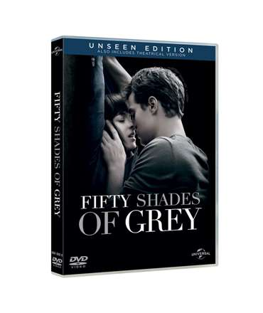 50 Sombras de Grey: DVD Fifty Shades of Grey Unsee Edition,339010