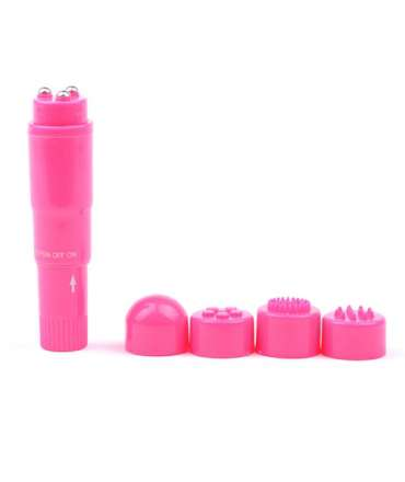 Vibrator Pocket Extra Strong Pink 9.5 cm 211021