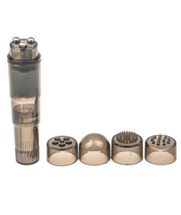 Vibrador de Bolso Extra Forte Preto,211022