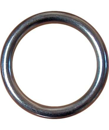 Cockring, Smooth Nickel 5617