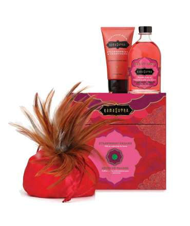 Conjunto Strawberry Treasure Trove Kama Sutra,353009