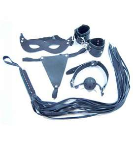 Kit Bondage 5 Pieces Black 341008