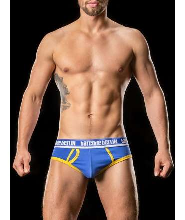 Briefs Kreuzberg BARCODE Blue Yellow 125010