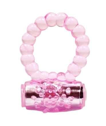 Cockring Vibrating Pearls Pink 130030