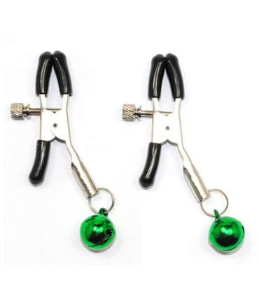 Clamps for Nipples with Bells Green 337020