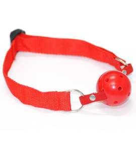 Gag Basic Red Ball Breathable 334020