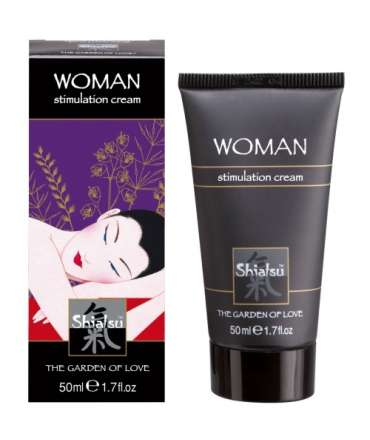 Cream Stimulating Female Shiatsu Woman Stimulation Cream 50ml 352017