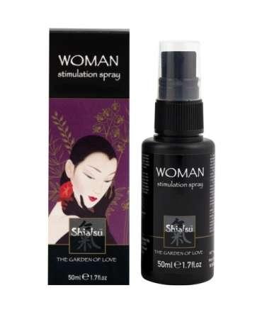 Spray Stimulating Female Shiatsu Woman Stimulation Spray 50 ml 352018