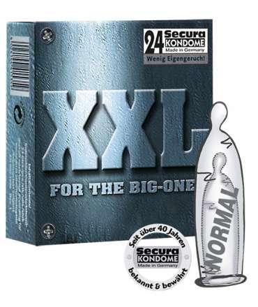 24 x Condoms XXL 319005