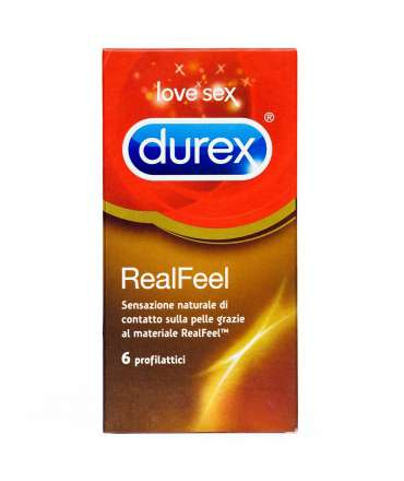 6 x Durex Condoms RealFeel 323001