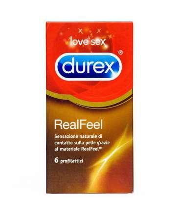 6 x Preservativos Durex RealFeel,323001