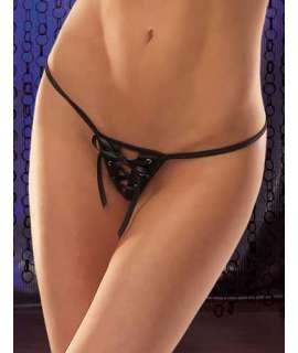 Briefs Thong Satin Ribbons Cross 176050