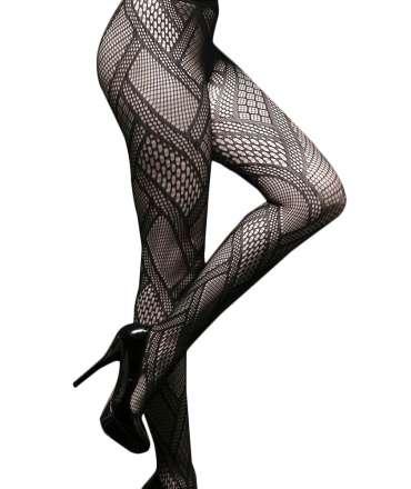 Socks Network Fashion Black 190019