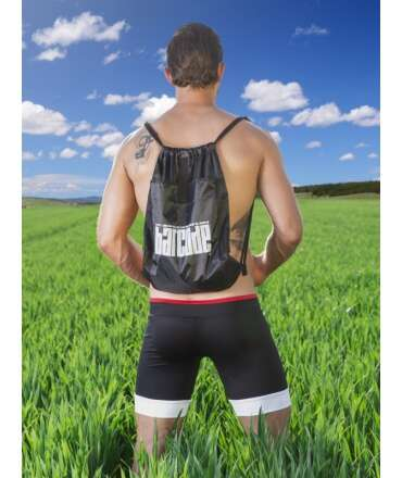 Drawstring bag BARCODE Black 125005