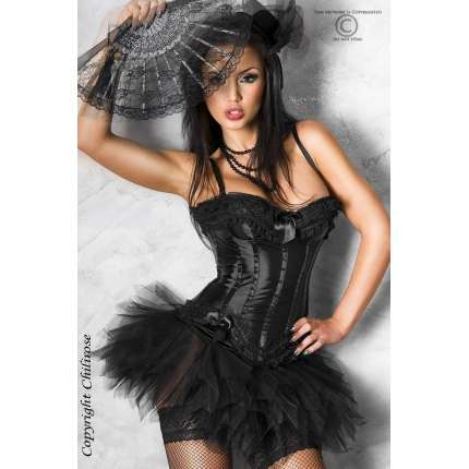 Bodice Dark Night Chilirose Black 161050
