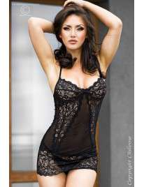 Babydoll Attractive Black Chilirose 160030