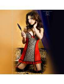 Babydoll Tigress and Red Chilirose 160033